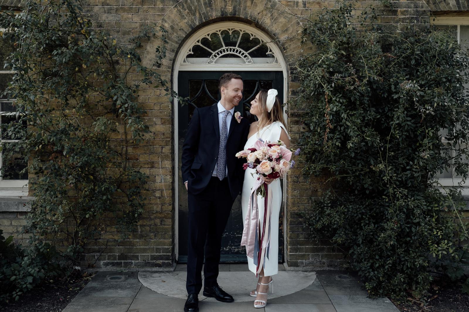 Bride and Groom - London Wedding