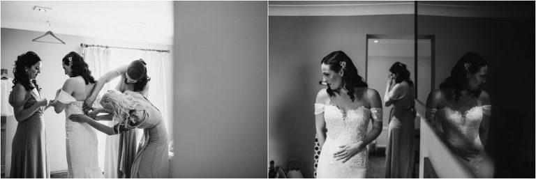 Bridal Prep at The Ferry House Inn